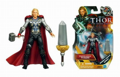 Thor Movie Action Figures Sword Spike Thor