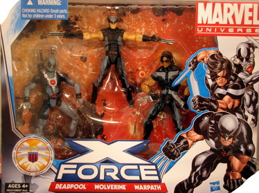 Marvel Universe Super Hero Team Packs X Force
