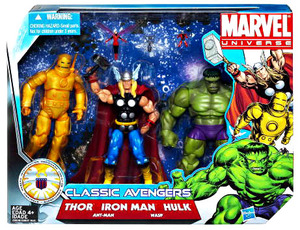 Marvel Universe Super Hero Team Classic Avengers