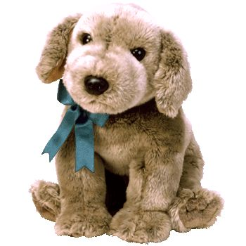 TY BEANIE CLASSIC  TANNER THE GRAY PUPPY DOG
