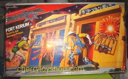 Bravestarr FORT KERIUM PLAYSET Bank  Jail