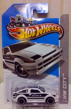 2013 Hot Wheels Hw City - Toyota AE-86 Corolla - White   K-mart exclusive