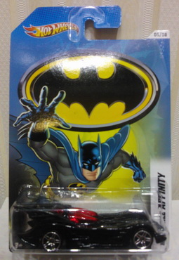 Hot Wheels 2012 Walmart Exclusive Batman series 05/08 BATMAN BATMOBILE AFFINITY new