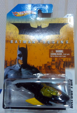 Hot Wheels 2012 Walmart Exclusive Batman series 03/08 BATMAN BEGINS BATCOPTER