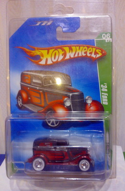 2009 Hotwheels Super Treasure Hunt 34 Ford