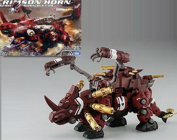 Zoids Takara Tomy Model Kit GRZ-011 Crimson Horn