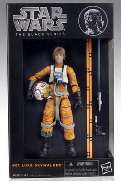 Star Wars The Black Series 6 Inch. Luke Skywalker X-Wing