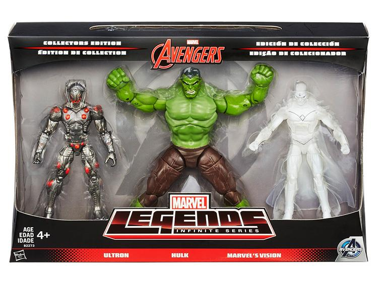 Marvel Legends Infinte Series  The Avengers  3 packs