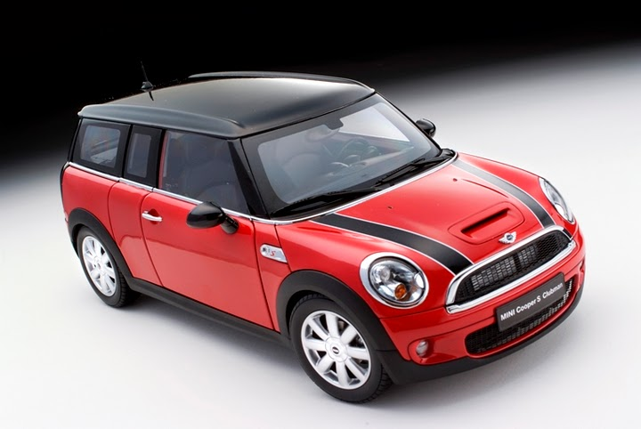 kyosho dicast mini cooper clubman red 1 18 2724091. Black Bedroom Furniture Sets. Home Design Ideas