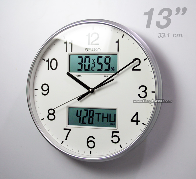 WALL CLOCK SEIKO QXL013S 2