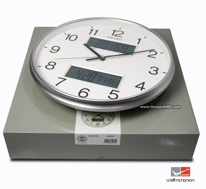 WALL CLOCK SEIKO QXL013S 4