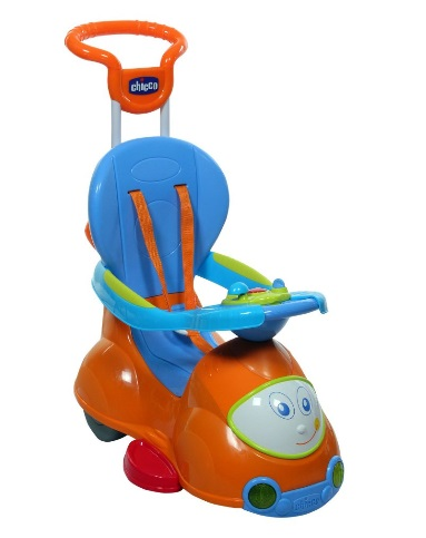 Chicco Quattro 4-in-1 Car Ride-On. ยี่ห้อ Chicco