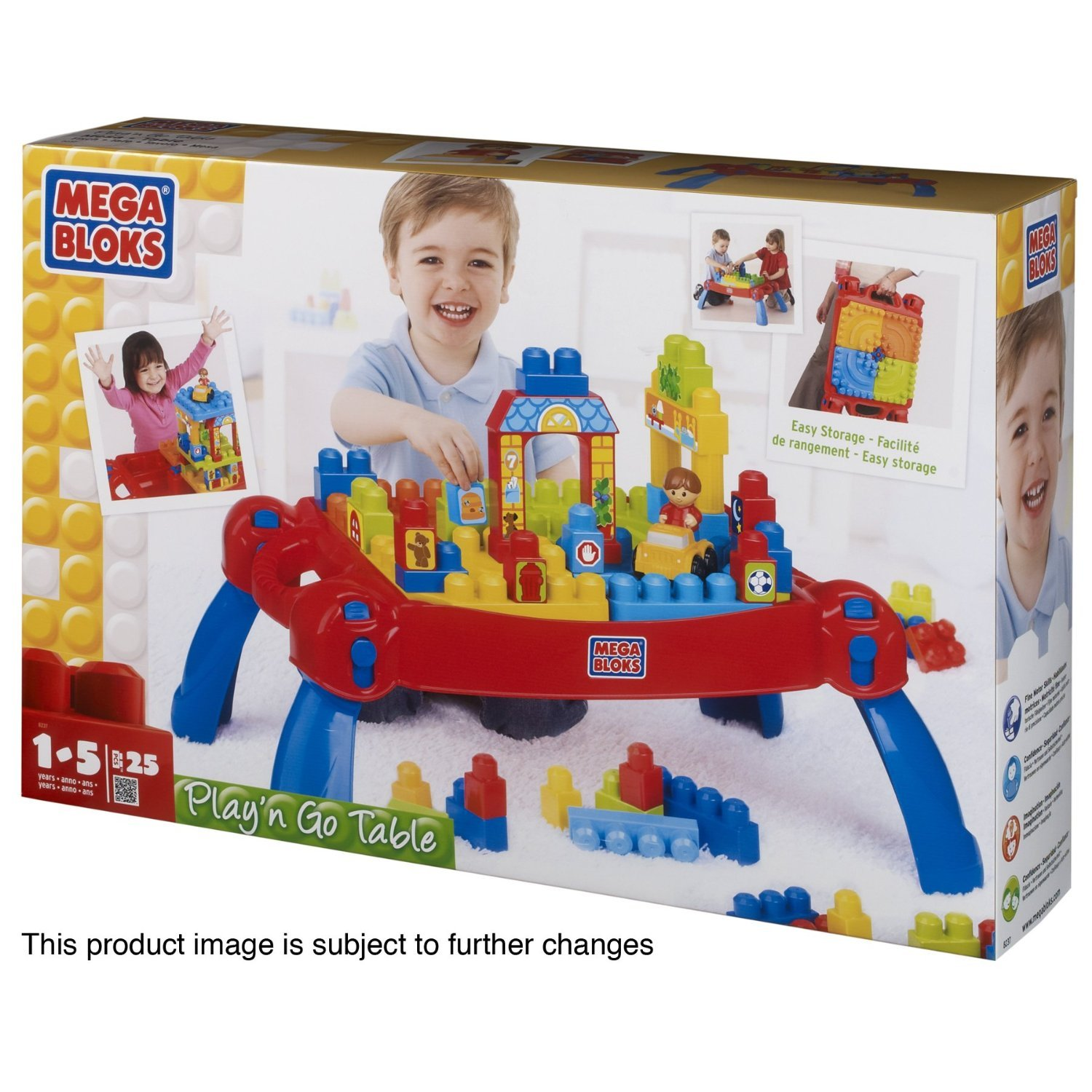 Mega Blocks Play n Go Table