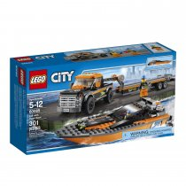 City Great Vehicles with Powerboat 60085