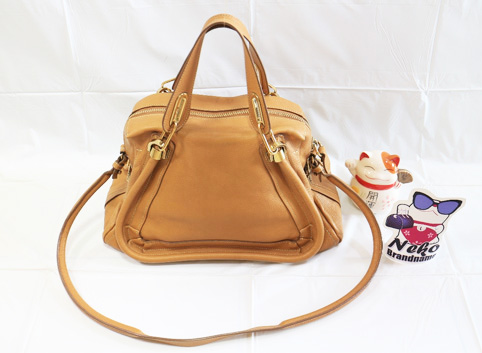 CHOLE PARATY LIGHT TAN WITH STRAP GHW