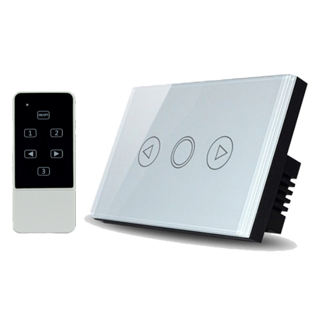 Real Switch Touch Dimmer with remote control (White)
