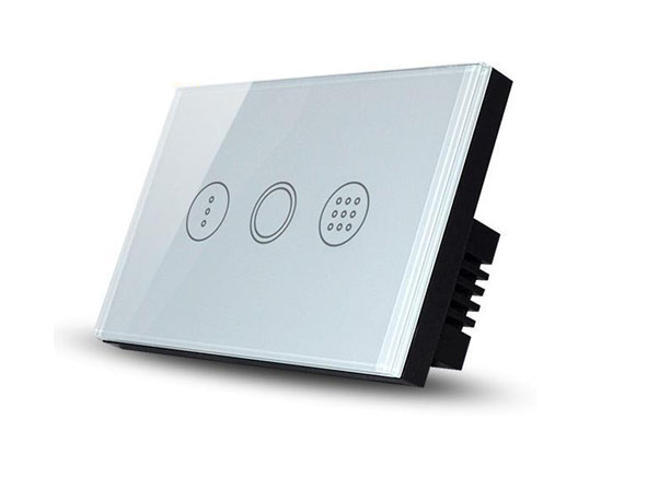 Real Switch Touch Timer (White)