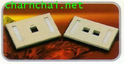 FACE PATE 1PORT 2PORT with ICONLABEL ID quot;LINKquot;