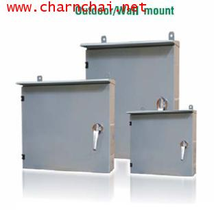 OUTDOOR Steel Cabinet for 2x27 pos. BMF