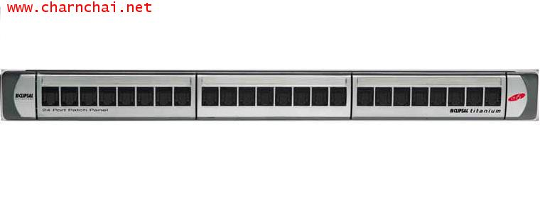 Category 6+ 24-Port ID6 Patch Panel CLIPSAL
