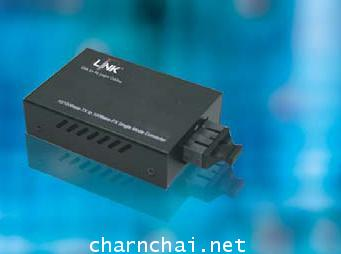 10100 Mbps MINI MEDIA CONVERTER RJ45SC(MM.)Fiber , (Up to 2 km.)