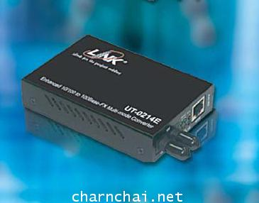 10100 Mbps ENHANCE MEDIA CONVERTER RJ45ST(MM.) Fiber, (Up to 2 km.)