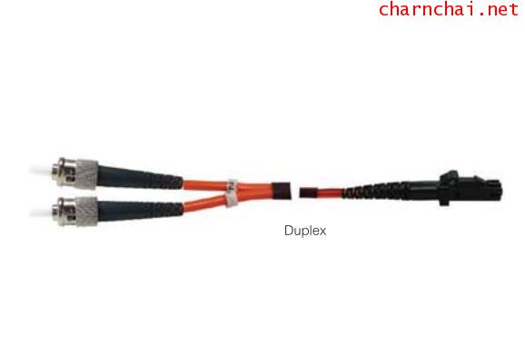 2M ST-MTRJ DUPLEX 62.5125 μm HYBRIDE CERAMIC Multi-Mode 62.5 μm PATCH CORD