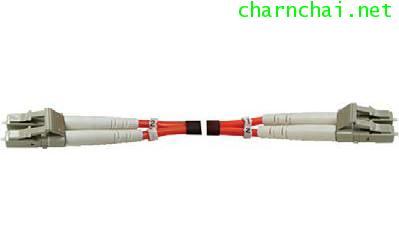 5M LC-LC DUPLEX 50125 μm CERAMIC Multi-Mode 50 μm PATCH CORD