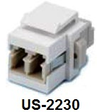 LC duplex (multimode) Coupler
