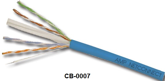 CAT 6 UTP CABLE 23 AWG, CMR  9-1427200-6