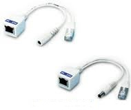 POE Cable Seperater 9-24 (Data+Power Plug  Jack   2.1 mm)   (1 Set มี 2 ตัว )