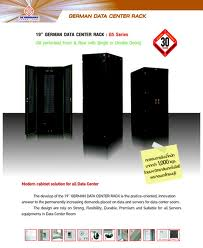 19quot; GERMAN DATA CENTER RACK 42U,(80x110cm.) ประตูหลังเปิด 2 บาน    Dimension(cm.) 80x110x205