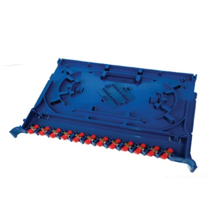 Panel for splice distribution unit with 12 FC UPC