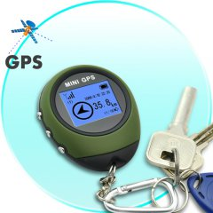 GPS Receiver + Location Finder Keychain