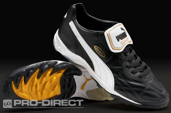 Puma King Allround TT Astro Turf Black/white