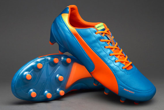 Puma evoSPEED 1.2 K FG - Blue/Peach