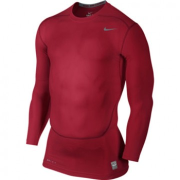Nike Pro Combat Core 2.0 Compression Long Sleeve Top สีแดง