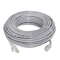 CAT5E CABLE-10M KENPRO Lan Cable 10 Meter CAT5E for IP (สีเทา)