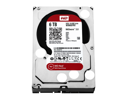 6.0 TB HDD NAS WD RED (0453196195)