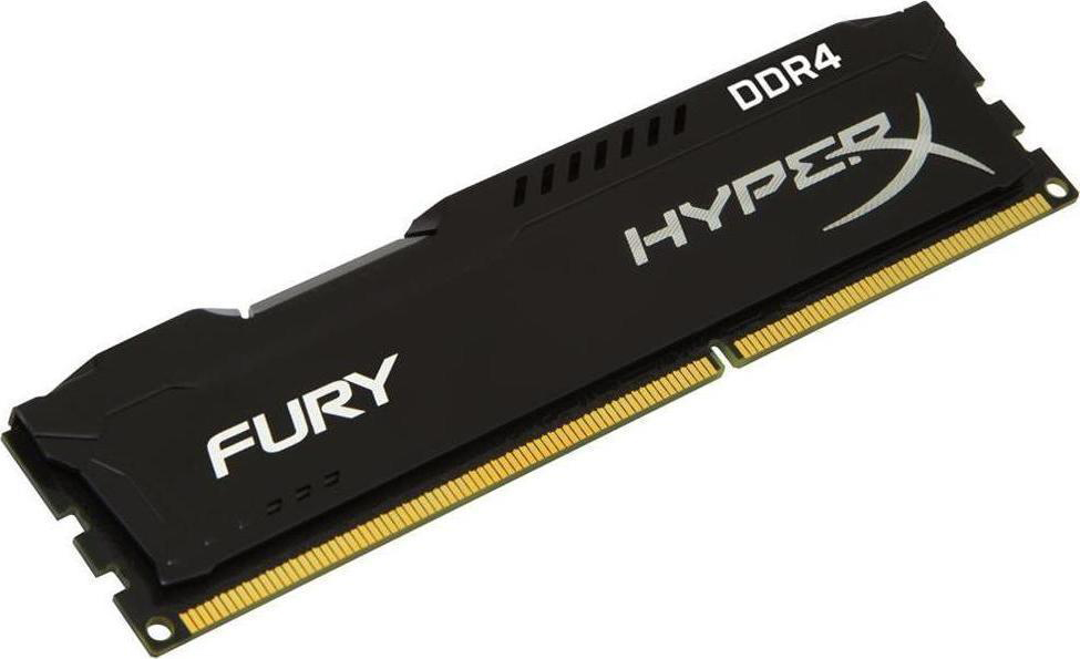 4 GB RAM PC DDR4/2400 KINGSTON HYPER-X FURY BLACK