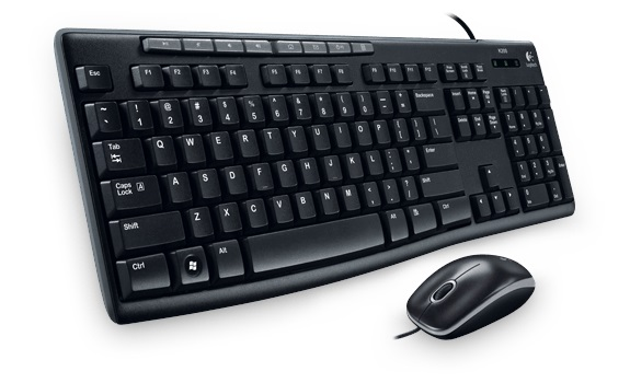KEYBOARD+MOUSE LOGITECH MEDIA MK200