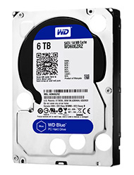 4.0 TB HDD WD SATA-3 BLUE