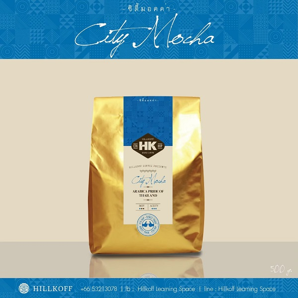 HILLKOFF CITY MOCHA ROAST 500g