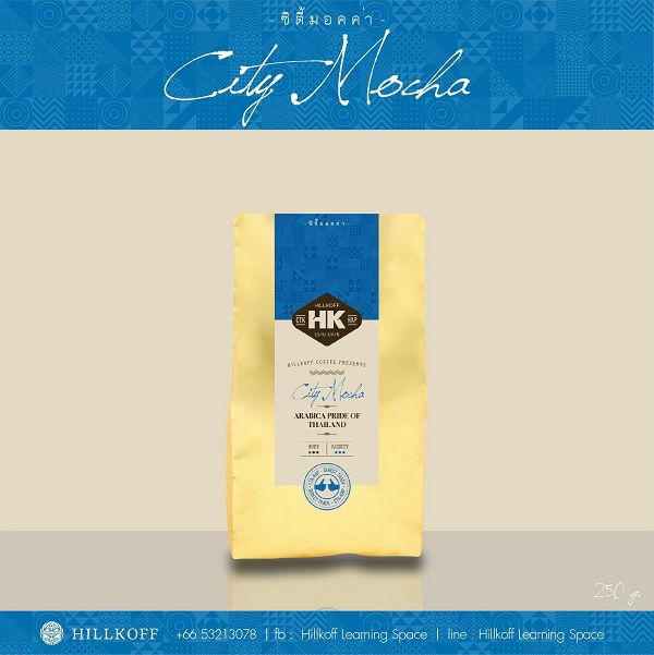 HILLKOFF CITY MOCHA ROAST 250g