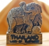Thai elephant Kick Ball Magnet