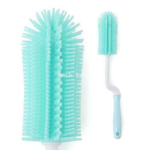 Loreley-Silicone rotate bottle brush Mint