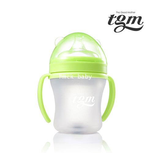 Loreley-tgm silicone baby bottle 180ml green