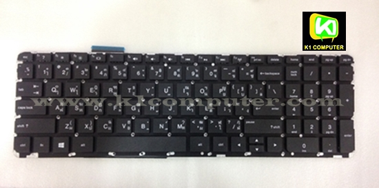 HP COMPAQ Keyboard คีย์บอร์ด HP EnvyTouchsmart 15-J 17-J Keyboard (TH-EN)