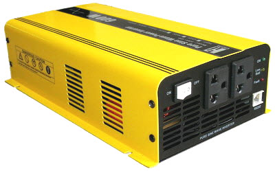 อินเวอร์เตอร์ Hi-end Katze Pure Sine Wave Power Inverter Switching 600 Watts 12VDC แปลงไฟ