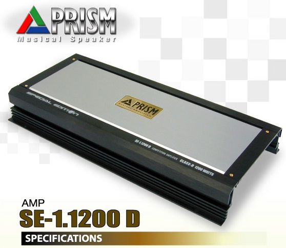 PRISM special edition SE-1.1200D แอมป์ class D  กำลังสูง